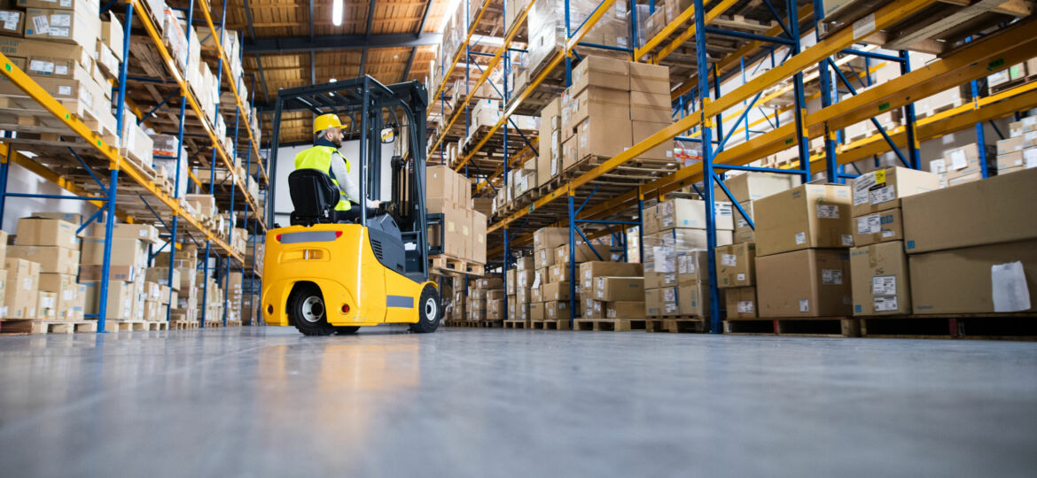 Warehouse,Man,Worker,With,Forklift.